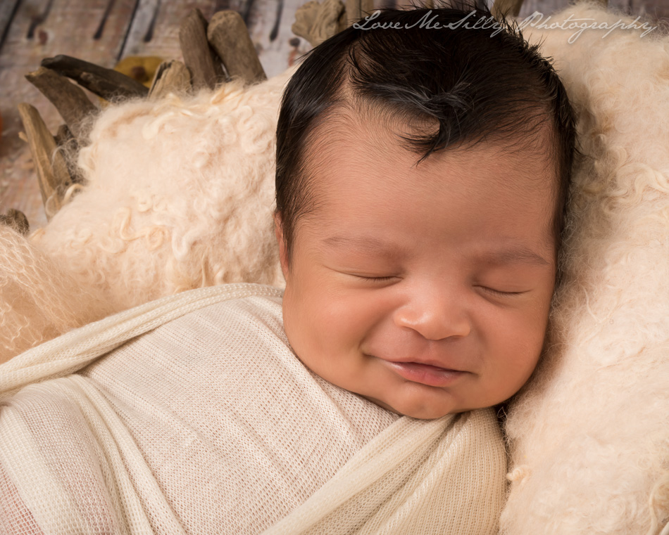 Studio city newborn photographer